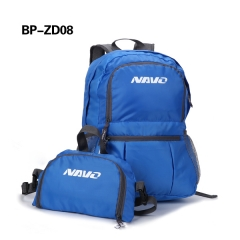 multi-functional foldable backpack