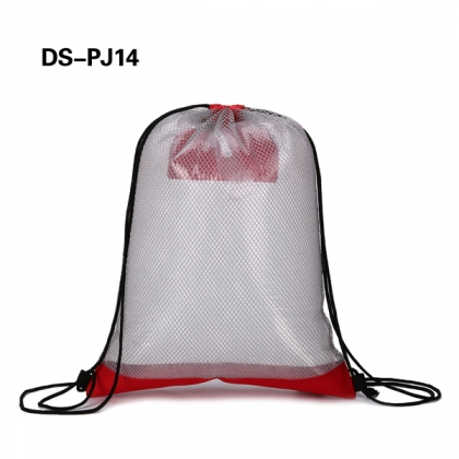 travel drawstring mesh bag
