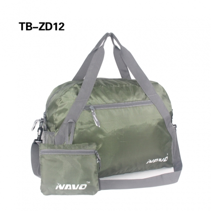 Durable Polyester Luggage Sports Gym Foldable Travel Duffel Bag