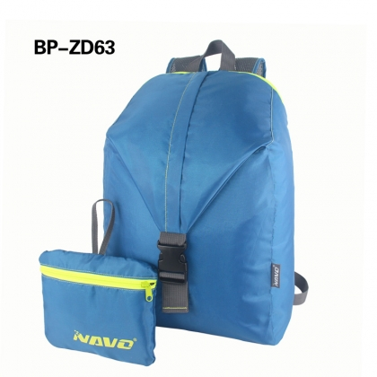 210D Polyester Foldable Backpack